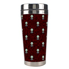 Bloody Cute Zombie Stainless Steel Travel Tumblers by AnjaniArt