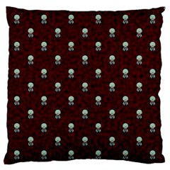 Bloody Cute Zombie Large Flano Cushion Case (one Side)