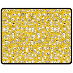 Background Para Tumblr Double Sided Fleece Blanket (medium)  by AnjaniArt