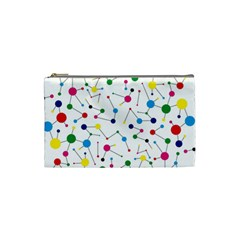 Bol Ball Cosmetic Bag (small)  by AnjaniArt