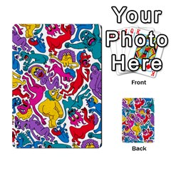 Animation Animated Cartoon Pattern Multi Purpose Cards (rectangle)  by AnjaniArt
