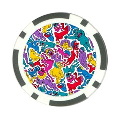 Animation Animated Cartoon Pattern Poker Chip Card Guards (10 Pack)  by AnjaniArt
