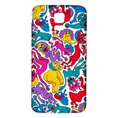 Animation Animated Cartoon Pattern Samsung Galaxy S5 Back Case (white)