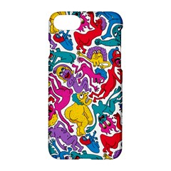 Animation Animated Cartoon Pattern Apple Iphone 7 Hardshell Case