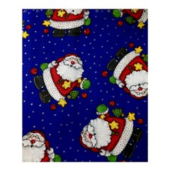 Blue Santas Clause Shower Curtain 60  X 72  (medium)  by AnjaniArt