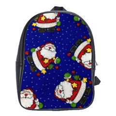 Blue Santas Clause School Bags (xl)
