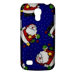 Blue Santas Clause Galaxy S4 Mini by AnjaniArt