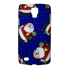 Blue Santas Clause Galaxy S4 Active by AnjaniArt