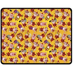 Bears Bunnies Goats Tigers Lions Pigs Gifts Texture Fun Fleece Blanket (medium)