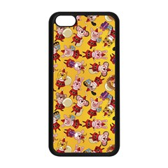 Bears Bunnies Goats Tigers Lions Pigs Gifts Texture Fun Apple Iphone 5c Seamless Case (black)
