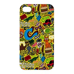 C Pattern Apple Iphone 4/4s Premium Hardshell Case by AnjaniArt