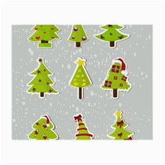 Christmas Elements Stickers Small Glasses Cloth (2 Side)