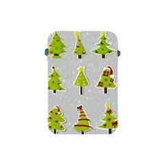 Christmas Elements Stickers Apple Ipad Mini Protective Soft Cases by AnjaniArt