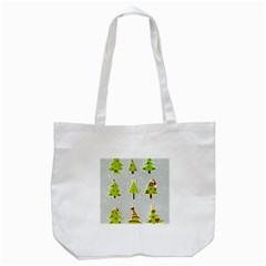 Christmas Elements Stickers Tote Bag (white)