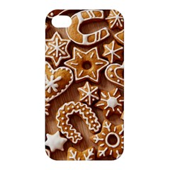 Christmas Cookies Bread Apple Iphone 4/4s Hardshell Case