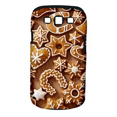 Christmas Cookies Bread Samsung Galaxy S Iii Classic Hardshell Case (pc+silicone)