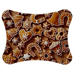 Christmas Cookies Bread Jigsaw Puzzle Photo Stand (bow)