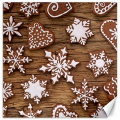 Christmas Cookies Canvas 16  X 16   by AnjaniArt