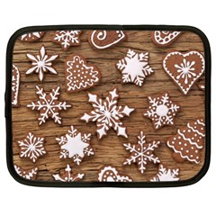 Christmas Cookies Netbook Case (xl)  by AnjaniArt