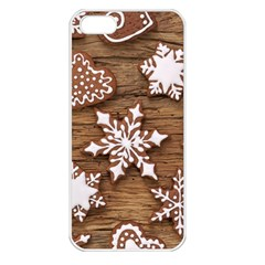 Christmas Cookies Apple Iphone 5 Seamless Case (white)