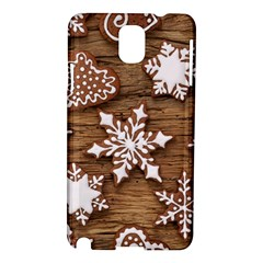 Christmas Cookies Samsung Galaxy Note 3 N9005 Hardshell Case by AnjaniArt