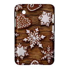 Christmas Cookies Samsung Galaxy Tab 2 (7 ) P3100 Hardshell Case  by AnjaniArt