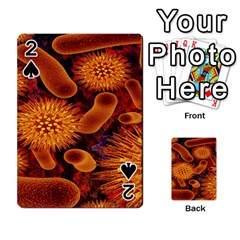 Chemical Biology Bacteria Bacterium Playing Cards 54 Designs  by AnjaniArt