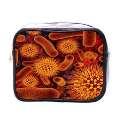 Chemical Biology Bacteria Bacterium Mini Toiletries Bags by AnjaniArt