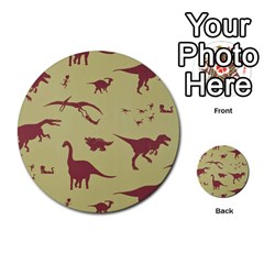 Dinosourus Multi Purpose Cards (round)