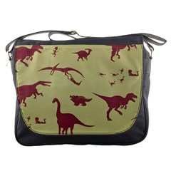Dinosourus Messenger Bags