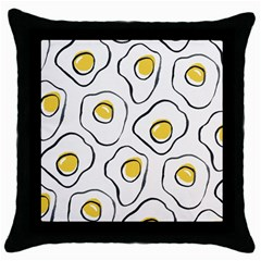 Ege Throw Pillow Case (black) by AnjaniArt