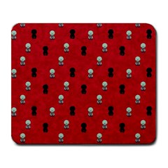 Cute Zombie Pattern Large Mousepads