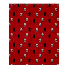 Cute Zombie Pattern Shower Curtain 60  X 72  (medium)  by AnjaniArt