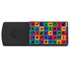 Elife Usb Flash Drive Rectangular (4 Gb)  by AnjaniArt
