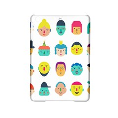 Face People Man Girl Male Female Young Old Kit Ipad Mini 2 Hardshell Cases by AnjaniArt