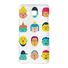 Face People Man Girl Male Female Young Old Kit Samsung Galaxy A5 Hardshell Case