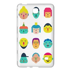 Face People Man Girl Male Female Young Old Kit Samsung Galaxy Tab 4 (8 ) Hardshell Case