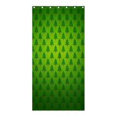 Fire Kindle Wallpaper Christmas Trees Shower Curtain 36  X 72  (stall)  by AnjaniArt