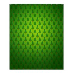 Fire Kindle Wallpaper Christmas Trees Shower Curtain 60  X 72  (medium)  by AnjaniArt