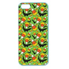 Ghostly Lullaby Apple Seamless Iphone 5 Case (color)