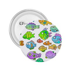 Fishes Col Fishing Fish 2 25  Buttons by AnjaniArt