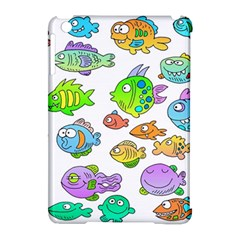 Fishes Col Fishing Fish Apple Ipad Mini Hardshell Case (compatible With Smart Cover) by AnjaniArt
