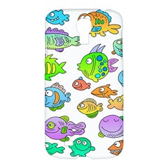 Fishes Col Fishing Fish Samsung Galaxy S4 I9500/i9505 Hardshell Case by AnjaniArt