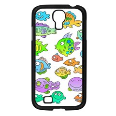 Fishes Col Fishing Fish Samsung Galaxy S4 I9500/ I9505 Case (black) by AnjaniArt
