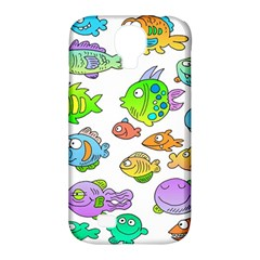 Fishes Col Fishing Fish Samsung Galaxy S4 Classic Hardshell Case (pc+silicone) by AnjaniArt