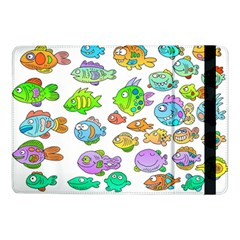 Fishes Col Fishing Fish Samsung Galaxy Tab Pro 10 1  Flip Case by AnjaniArt