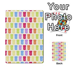 Gummibears Candy Multi Purpose Cards (rectangle)  by AnjaniArt