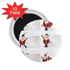 Images Natale Pinterest Christmas Clipart Reindeer 2 25  Magnets (10 Pack)  by AnjaniArt
