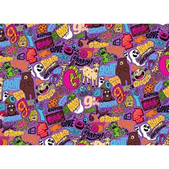 Gpattern Birthday Cake 3d Greeting Card (7x5) by AnjaniArt
