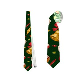 Hat Merry Christmast Neckties (one Side)